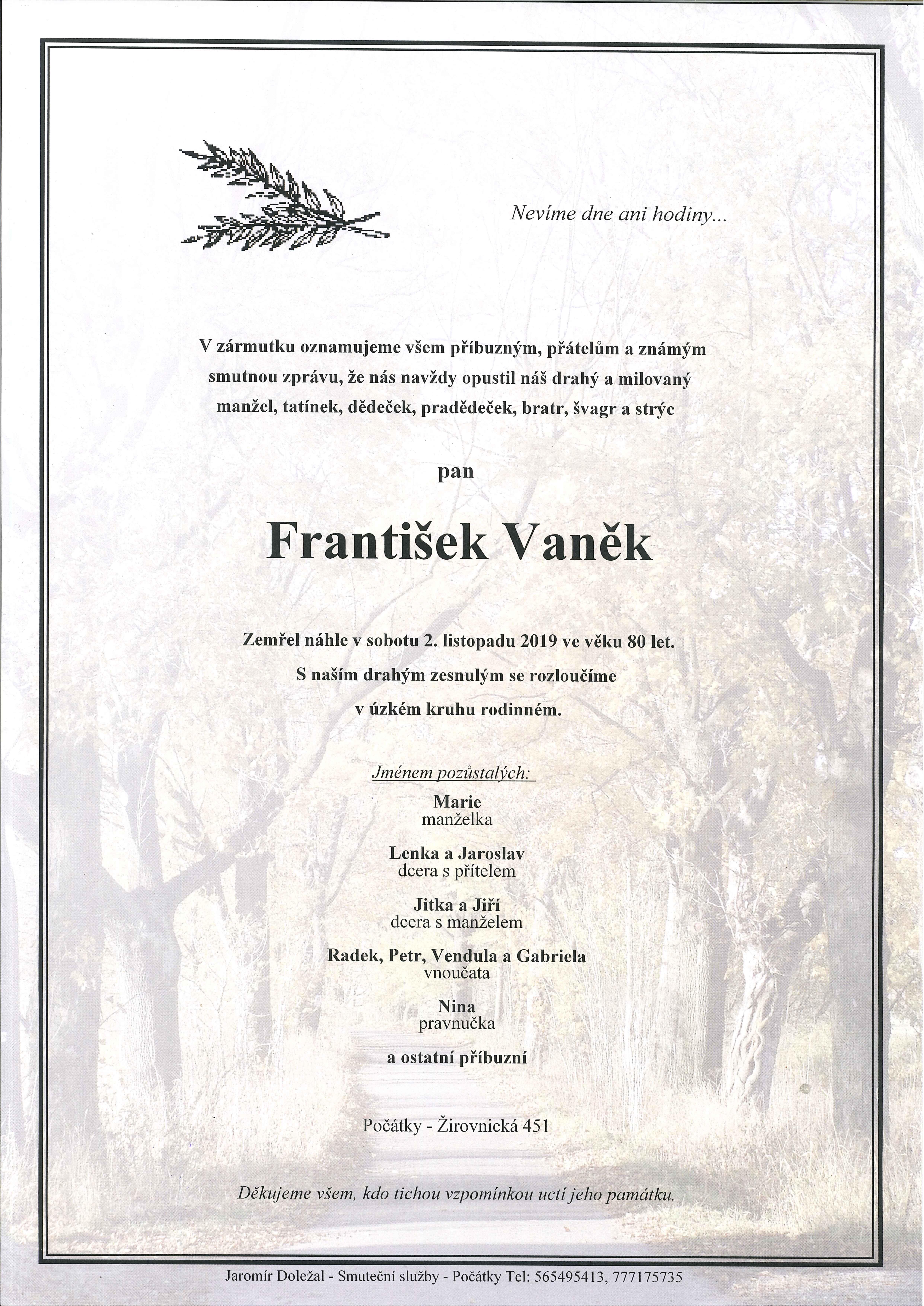 František Vaněk