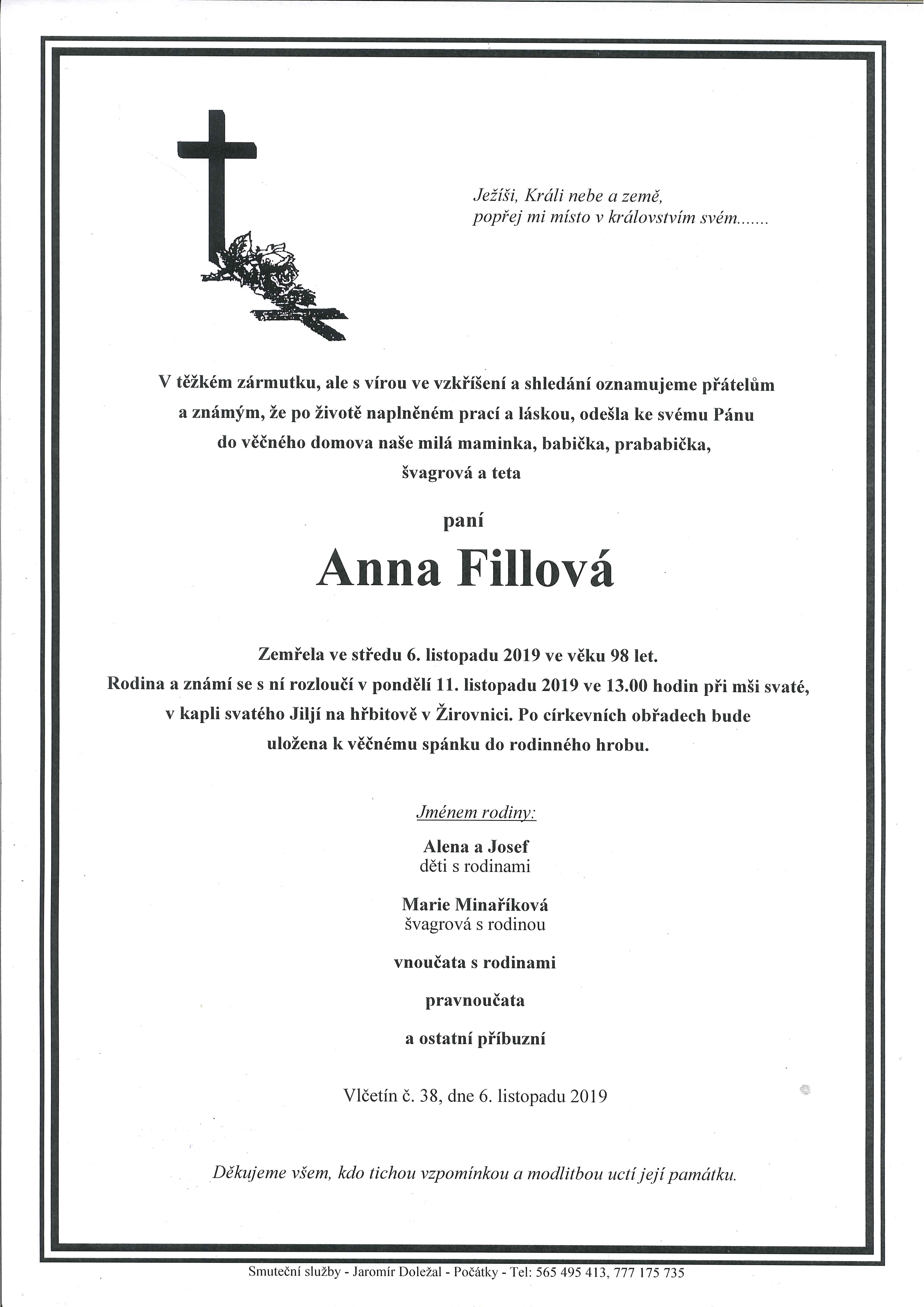 Anna Fillová