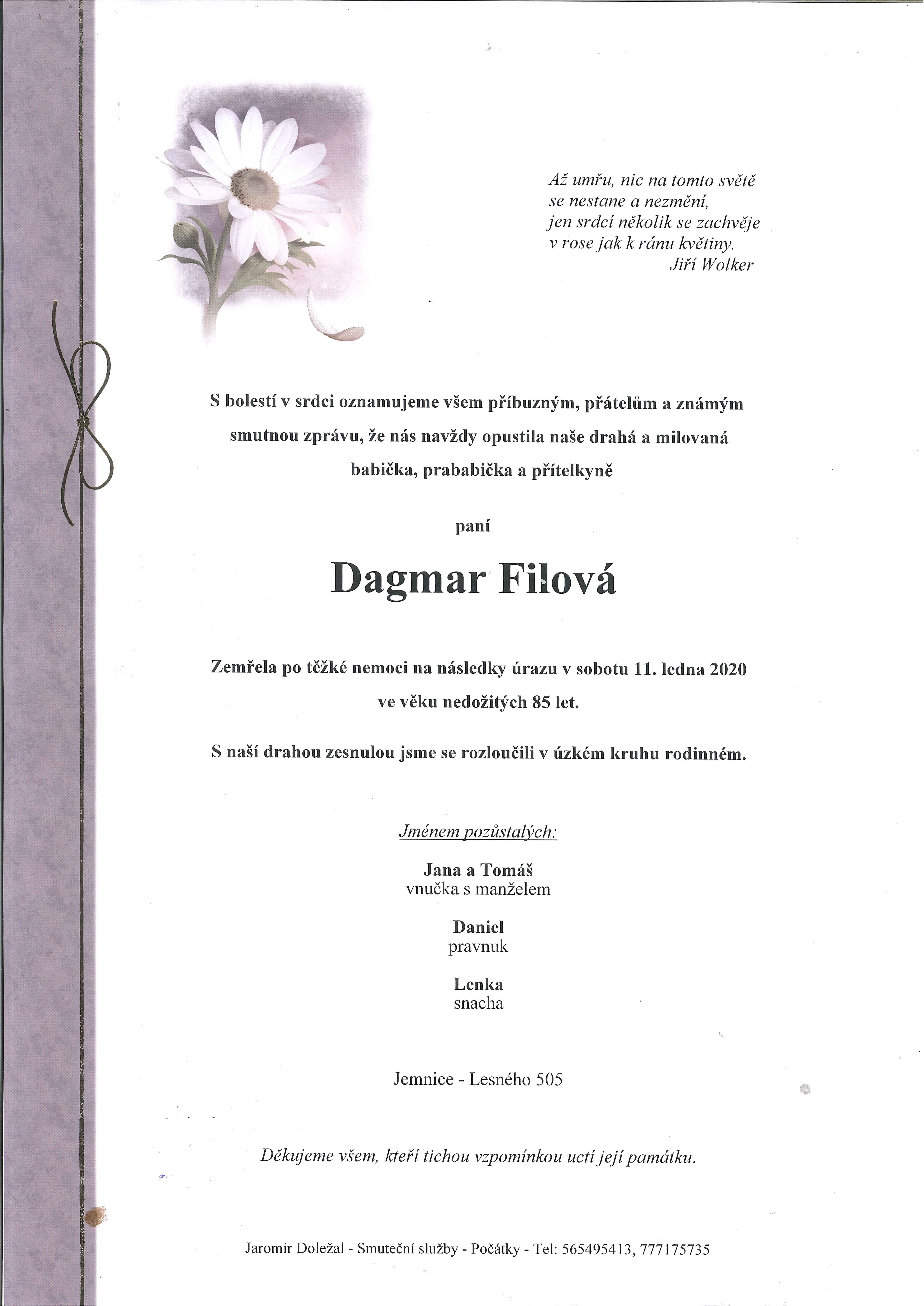 Dagmar Filová