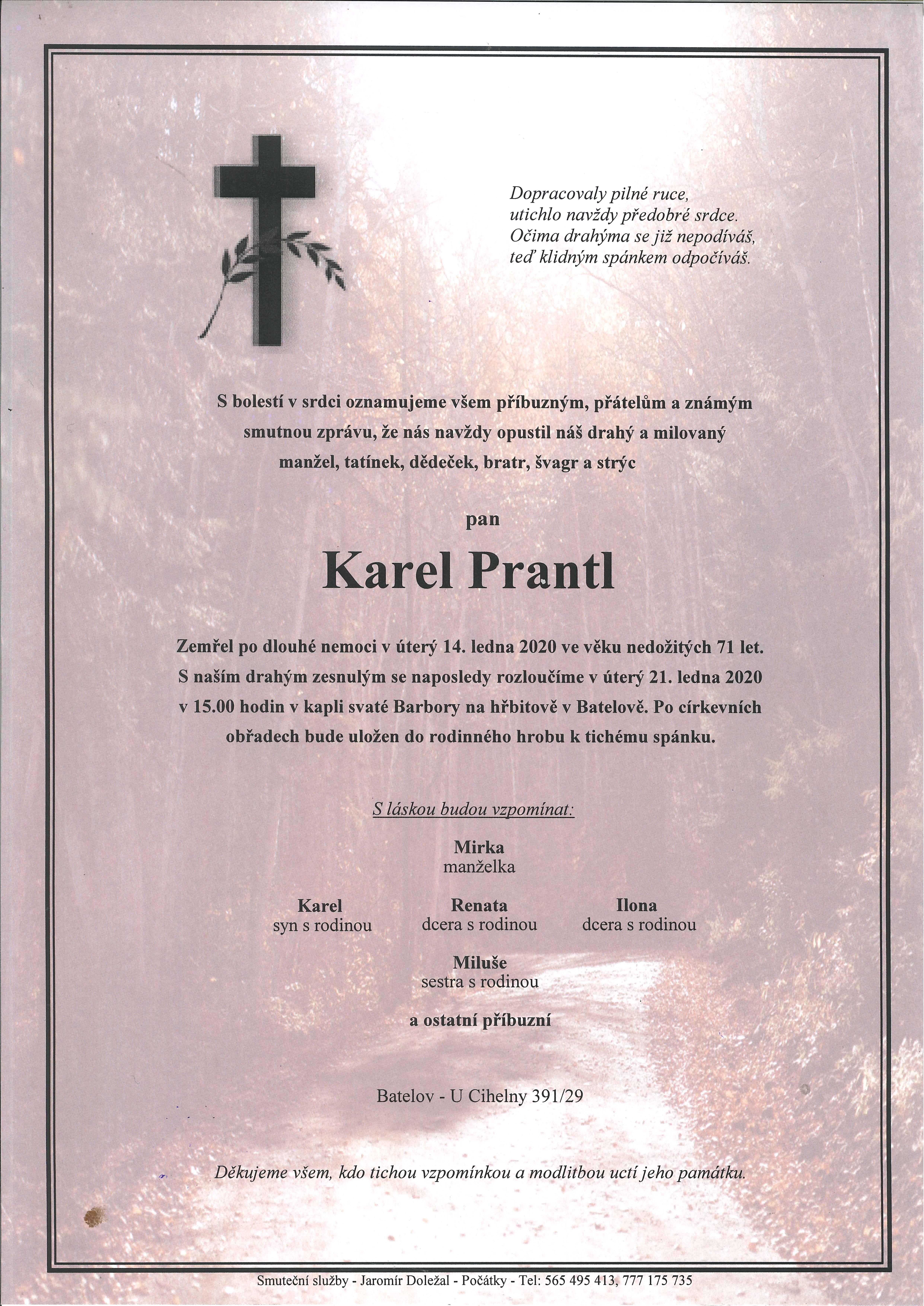 Karel Prantl