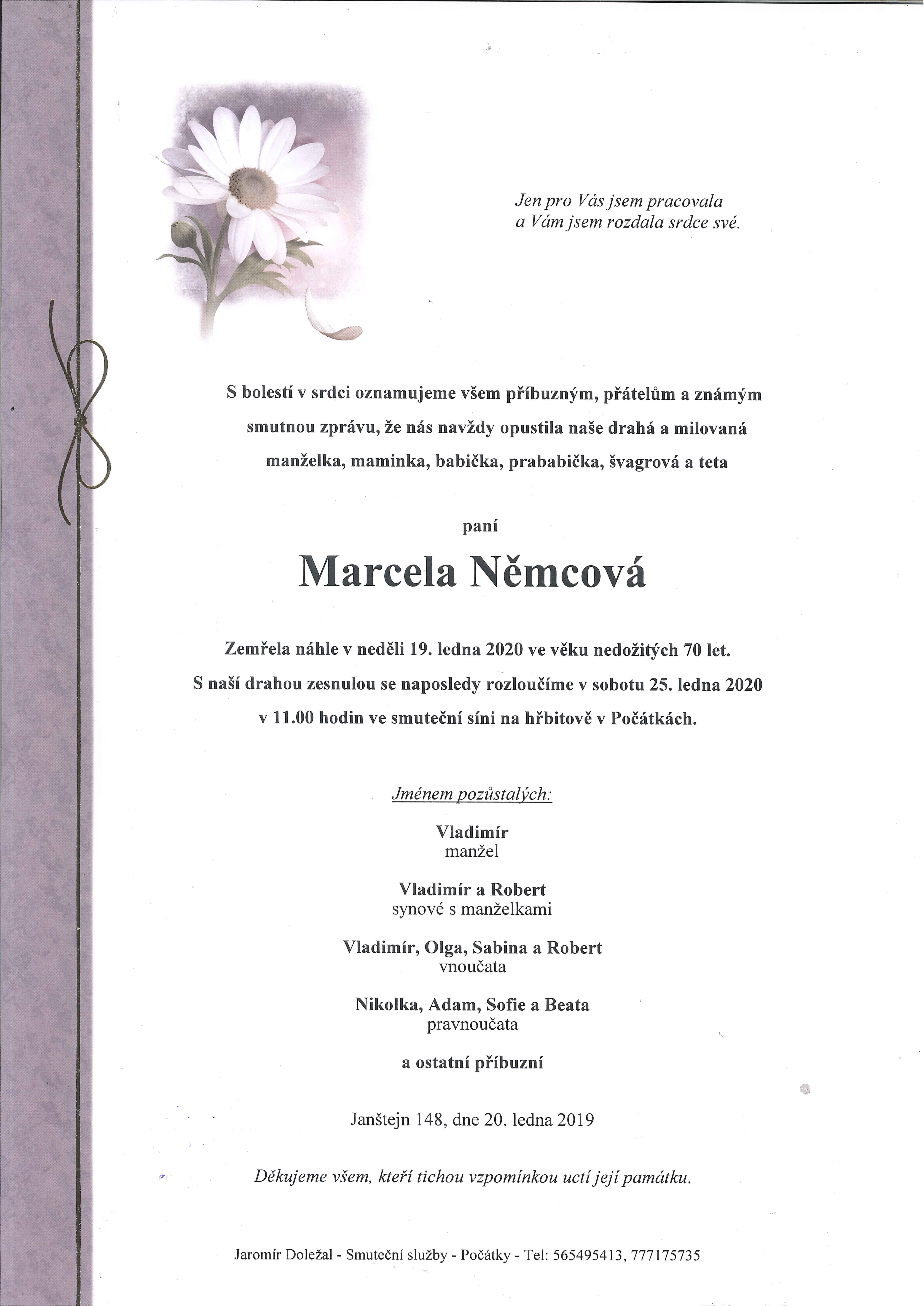 Marcela Němcová