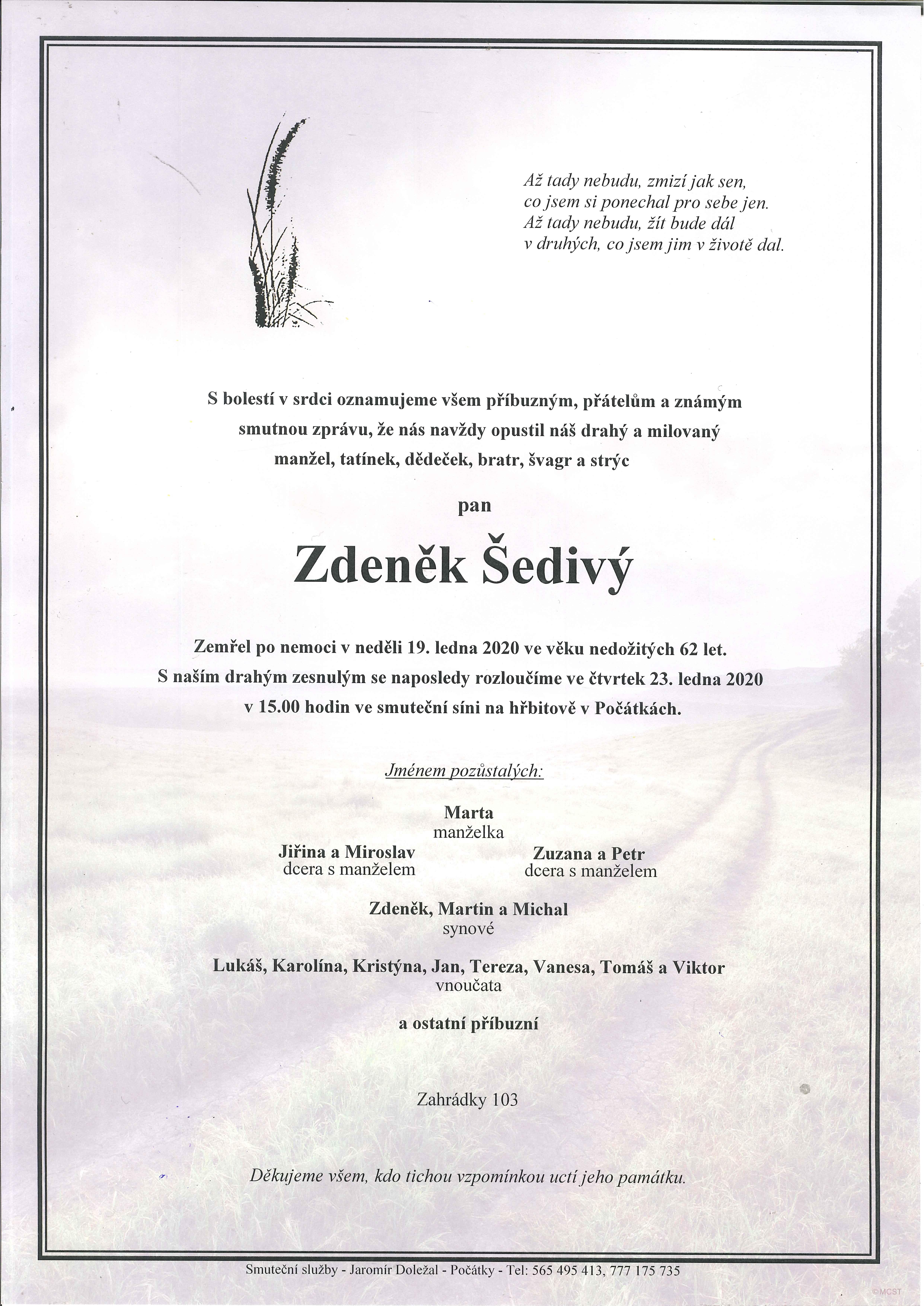 Zdeněk Šedivý