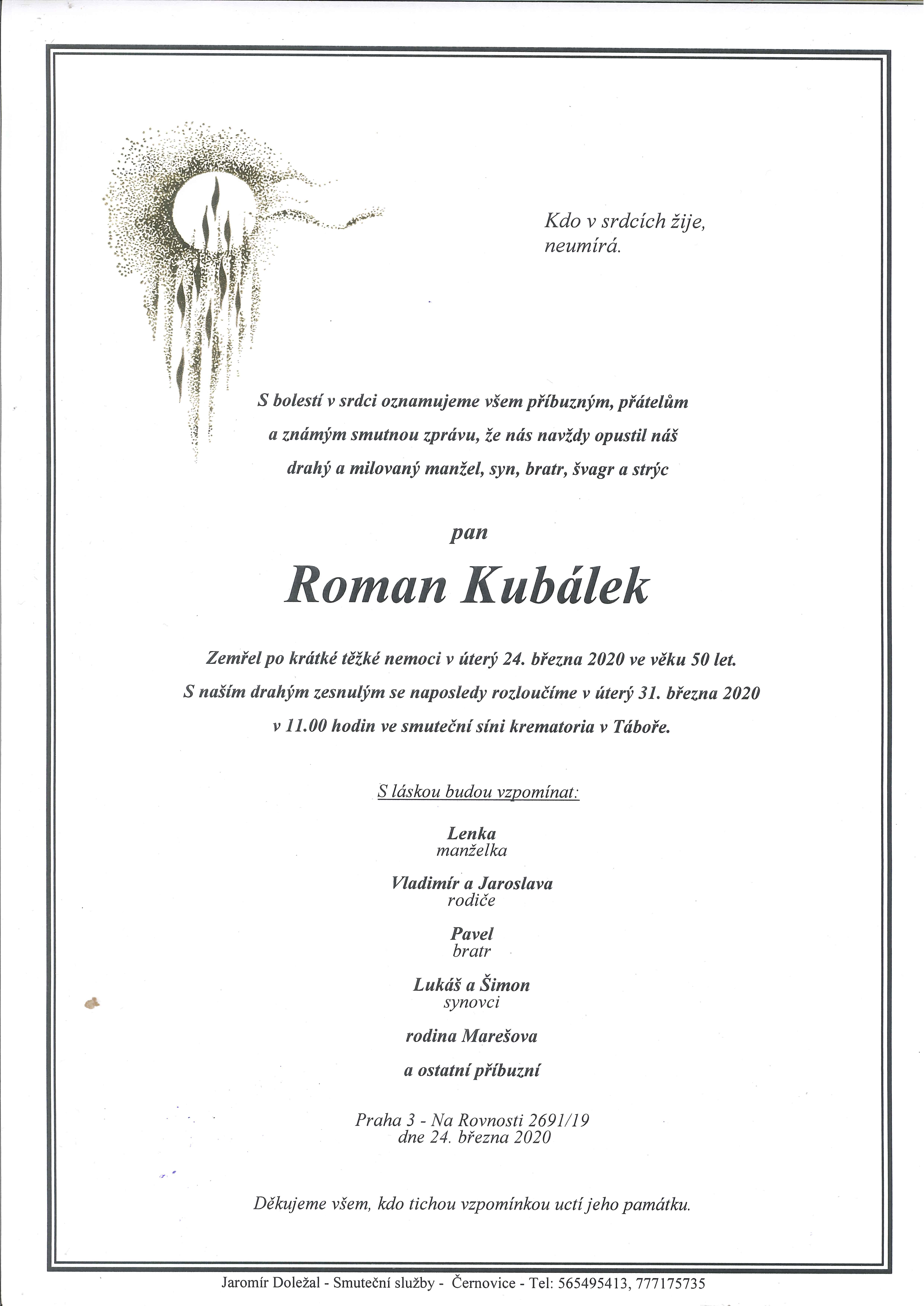 Roman Kubálek