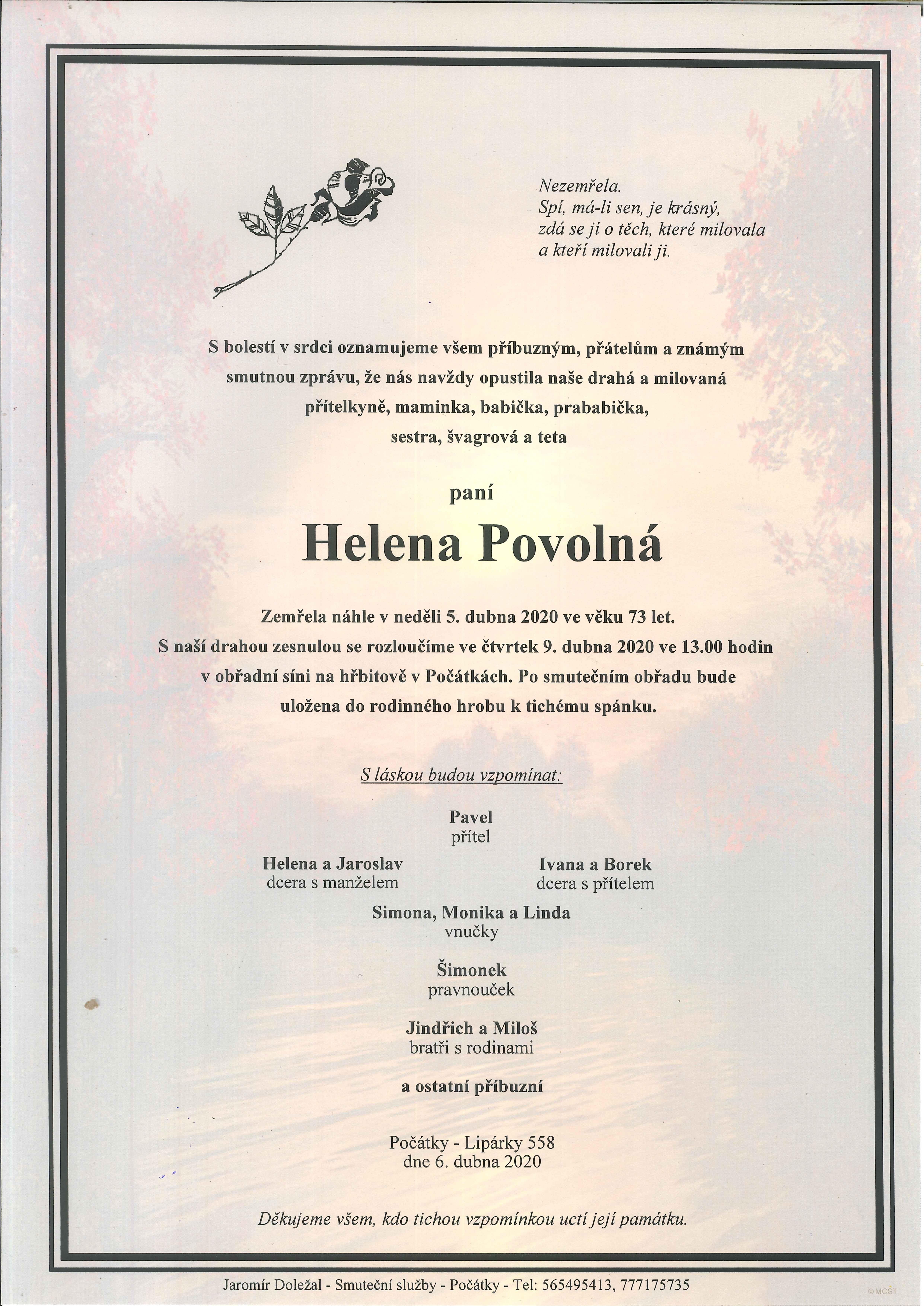 Helena Povolná