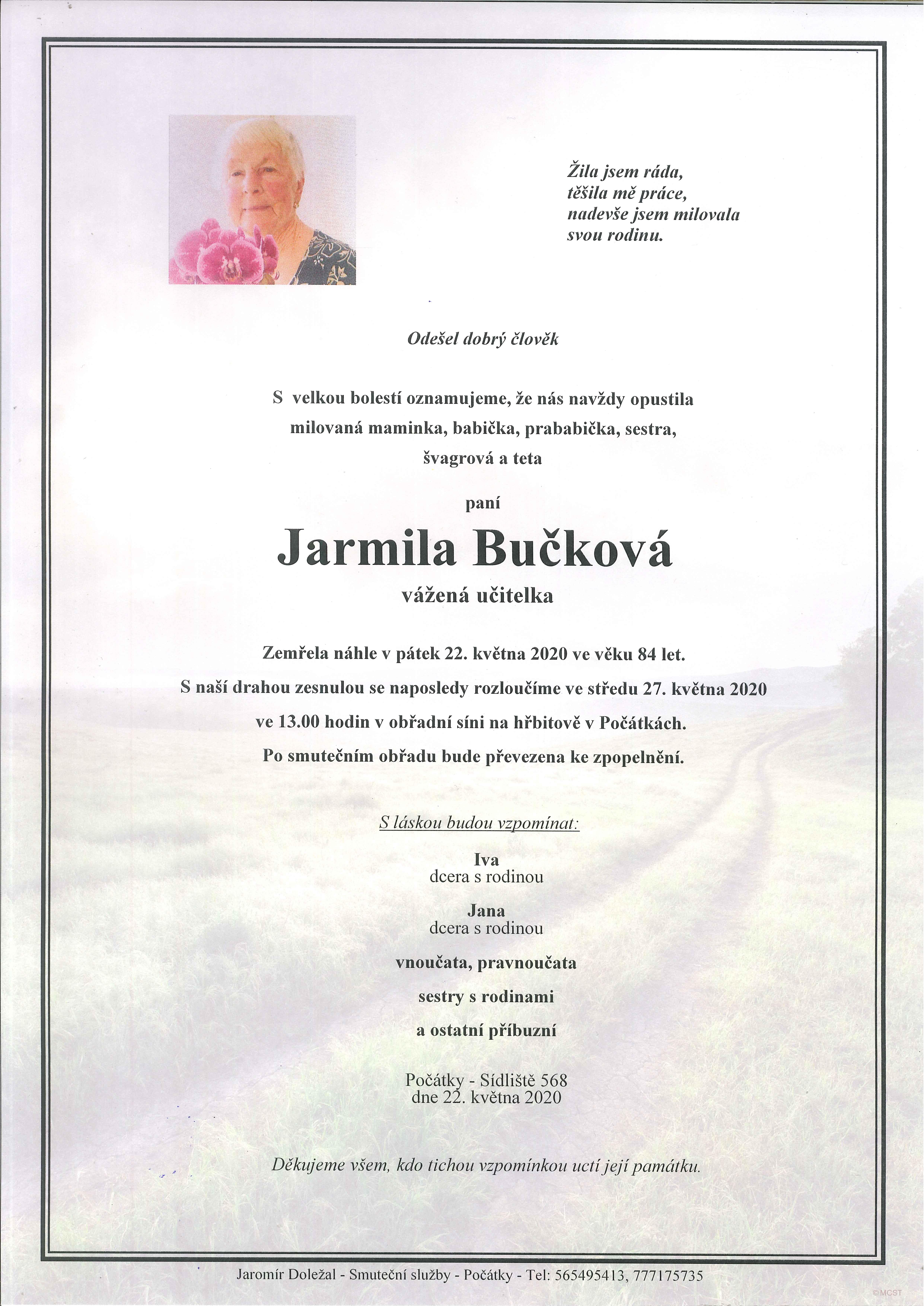 Jarmila Bučková
