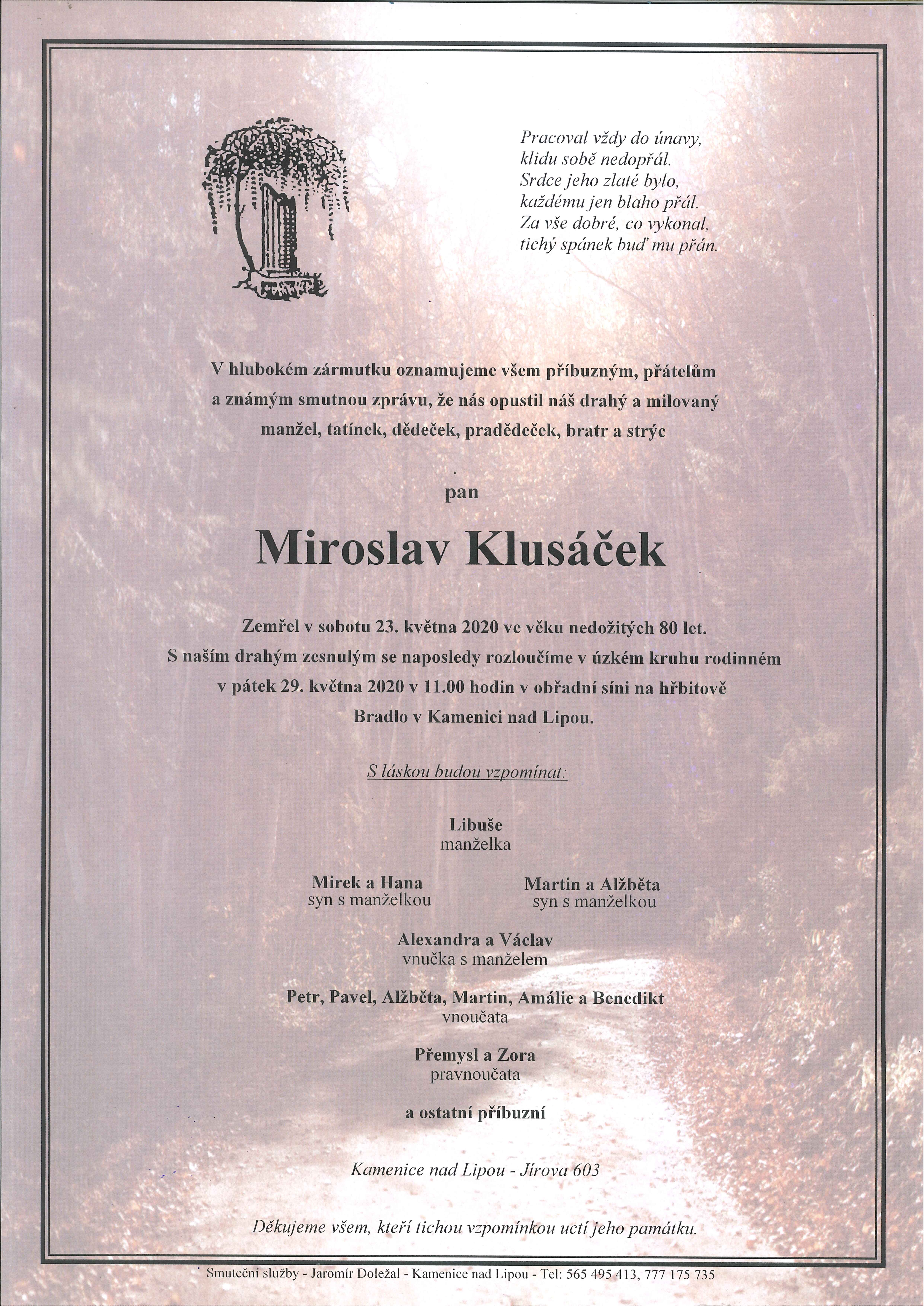 Miroslav Klusáček