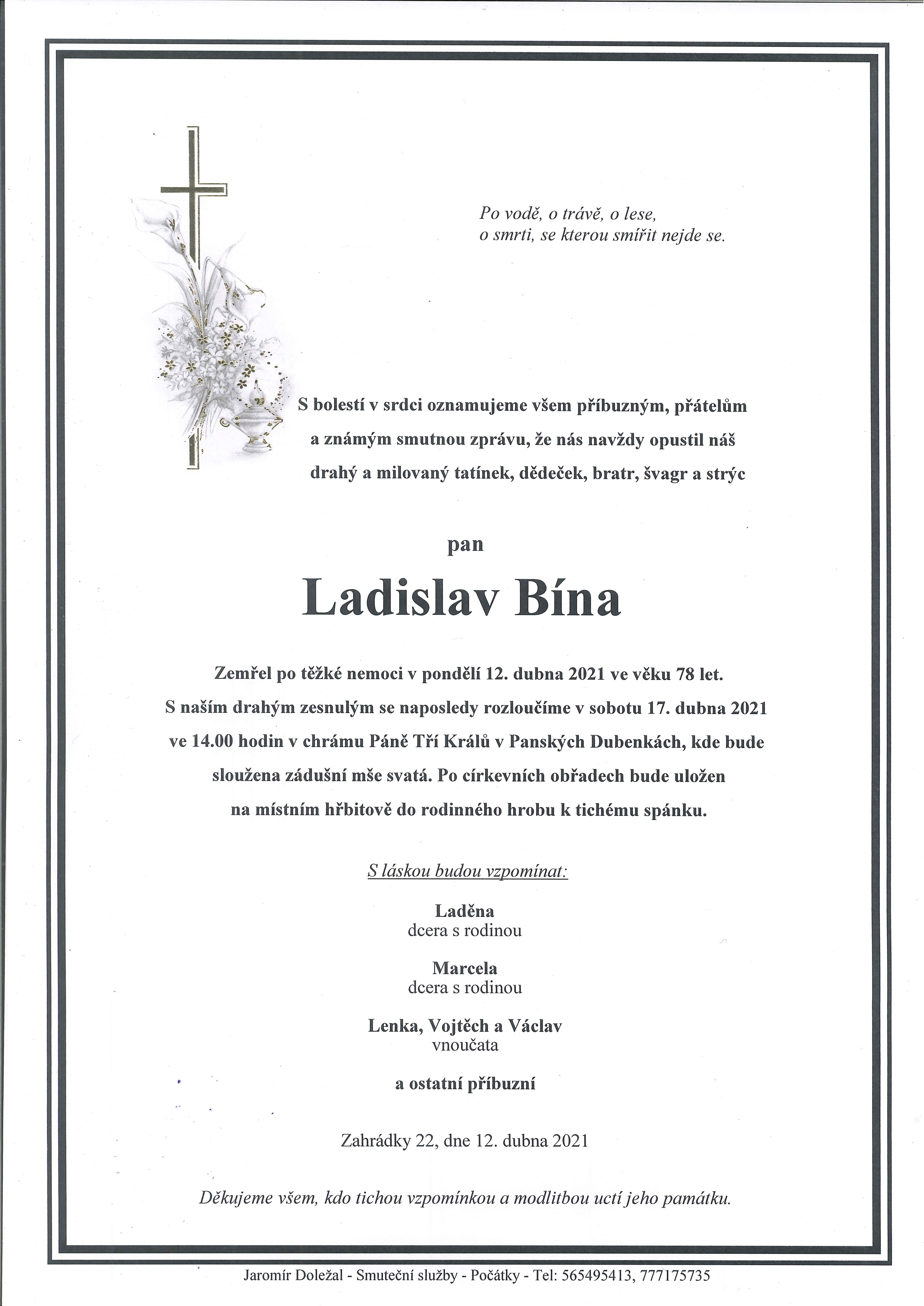 Ladislav Bína