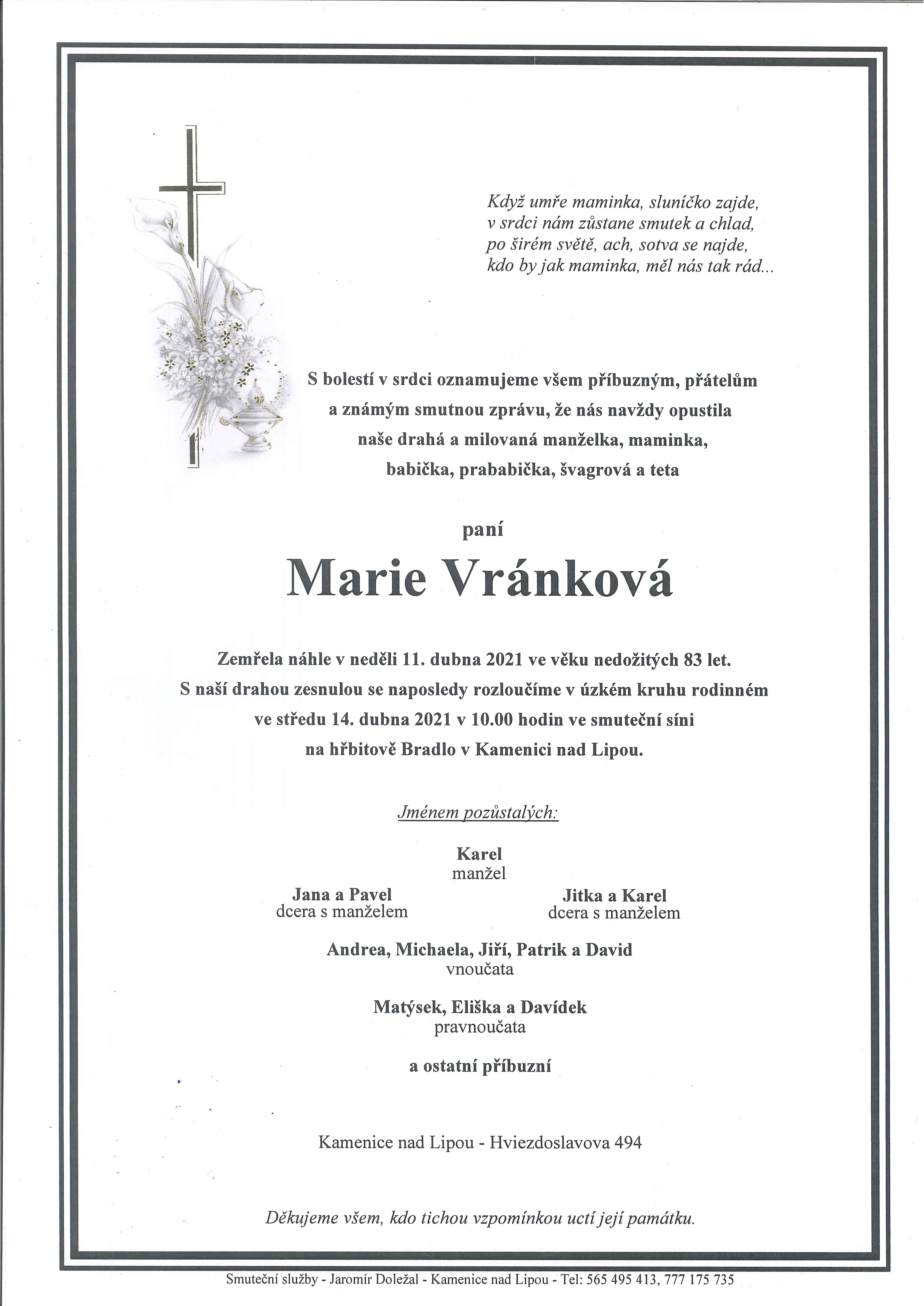 Marie Vránková