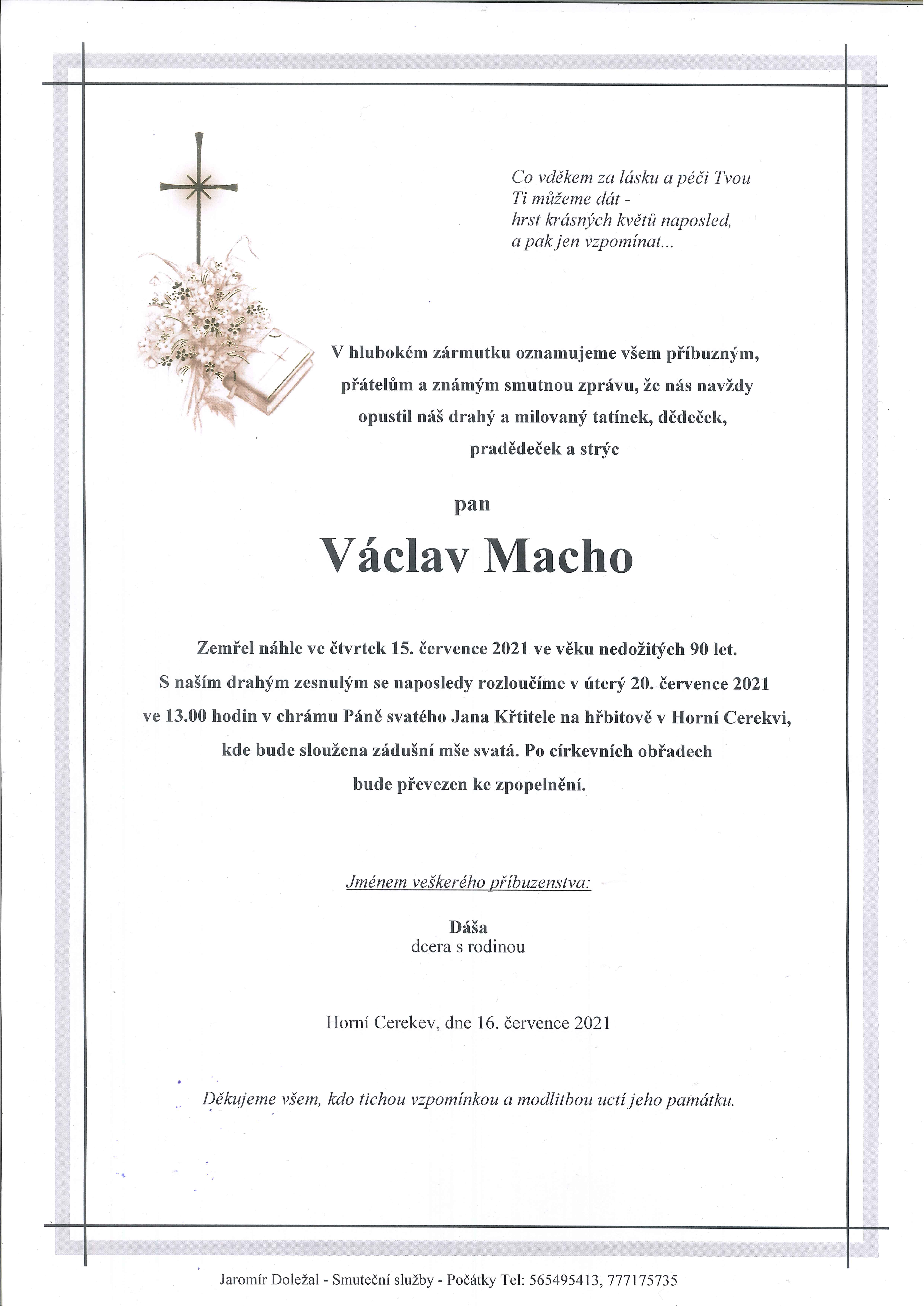 Václav Macho