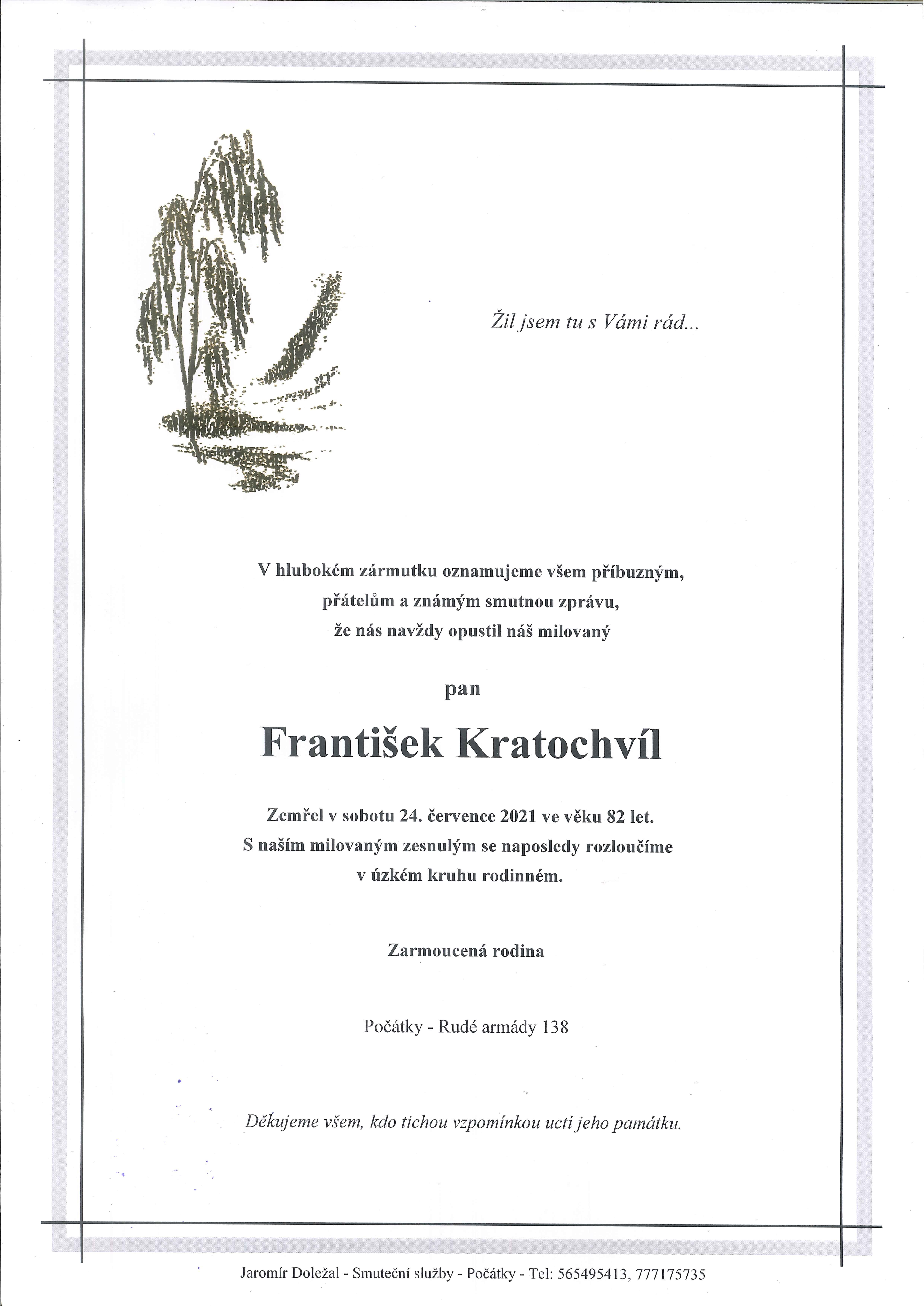 František Kratochvíl