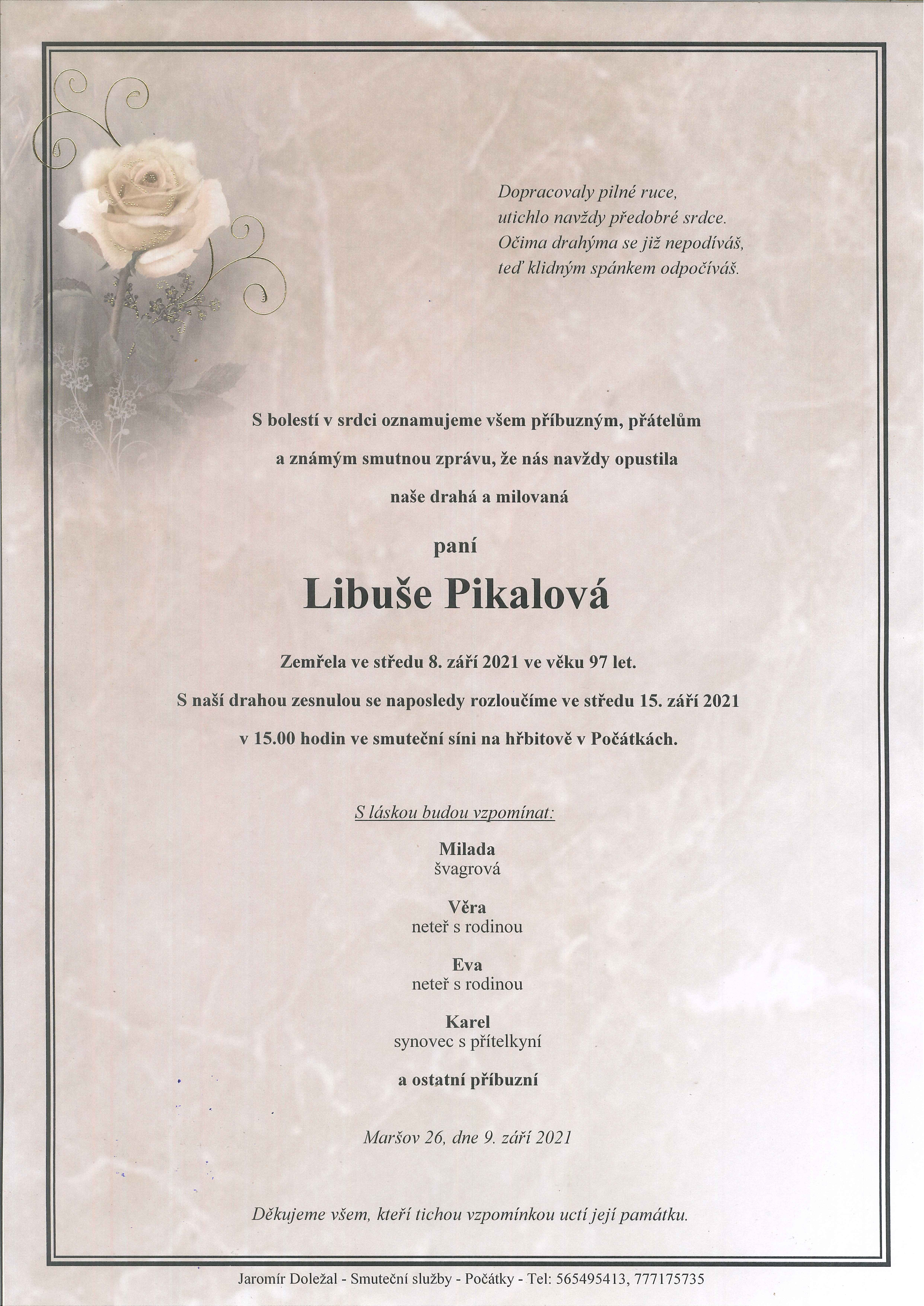 Libuše Pikalová