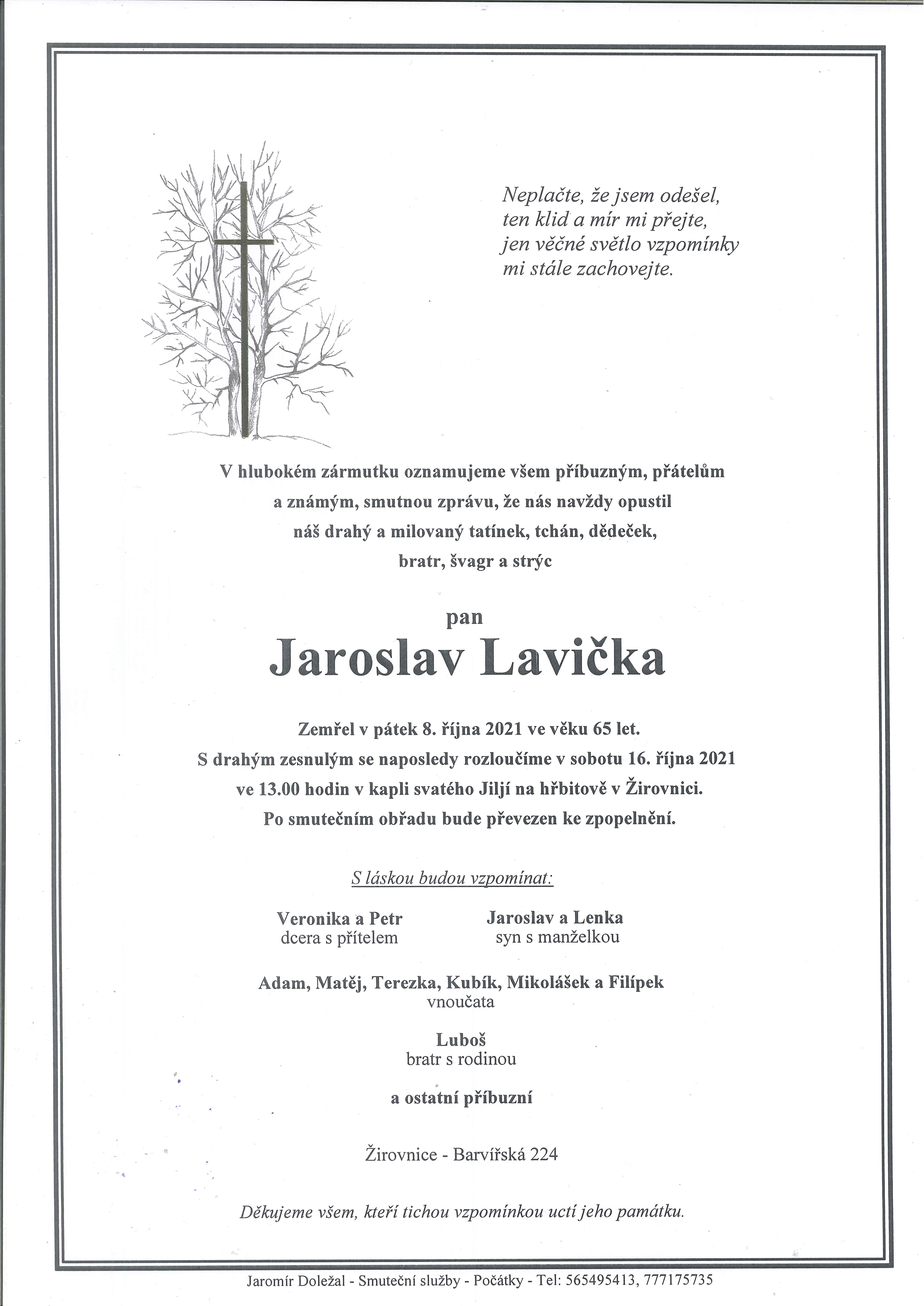 Jaroslav Lavička