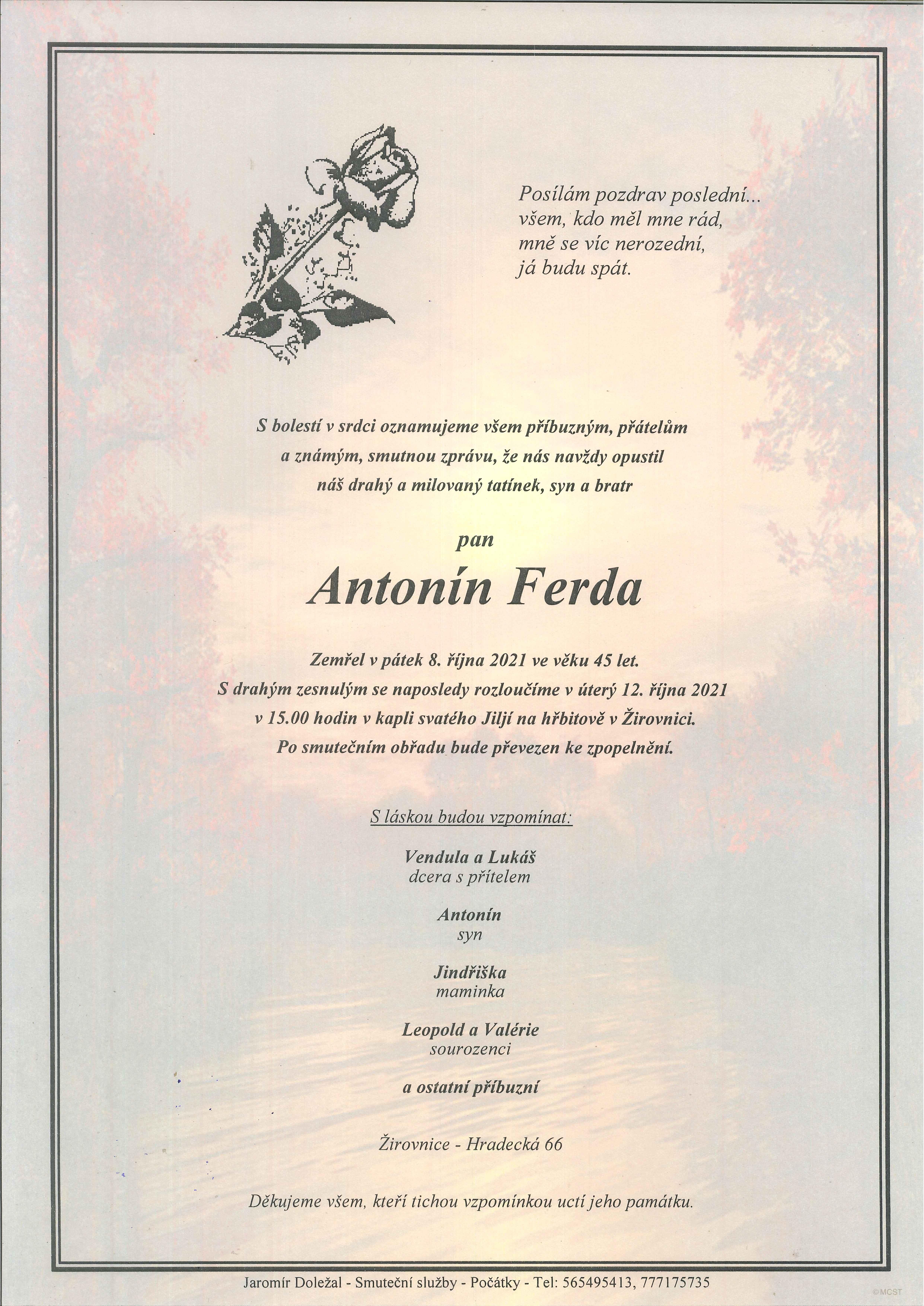 Antonín Ferda